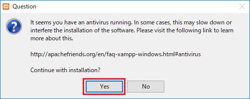 ウイルス対策ソフト警告
